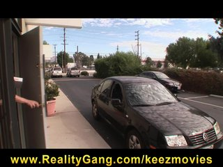 Hot young black teen slut fucks pizza delivery man s big hard-dic