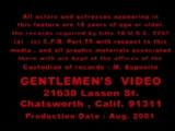 Ladyboy Orgy - Gentlemens Video