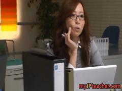Kaori Lovely Asian Teacher Has Nice Part1