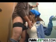 Hot Japanese Banged Hard In Public movie-22