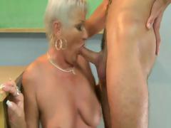 Granny Loves To Satisfy Hard Cock