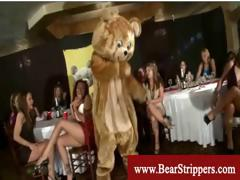 Girl Gives Striptease To Seduce Stripper