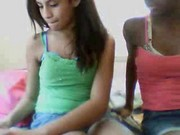 2 black teen show webcam