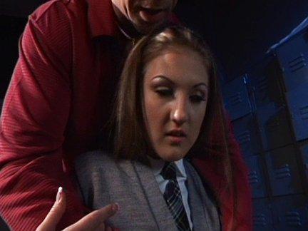 Mia Rose is a naughty schoolgirl