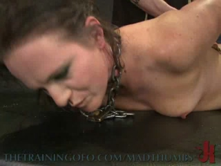 Sophie Monroe Experienced Raunchy Anal Fucking In Hot BDSM Training