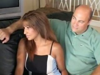 Tight Latina Talked Into Getting Plowed By Y0unger Man