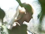 Busty Blonde All Alone - Wildlife