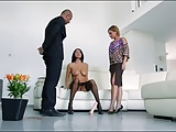 Incredible Sexy MILF & Her Maid HOT Threesome! WOW