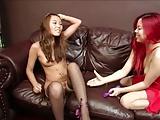 Korean Lesbian (Korean friends try lesbian sex)