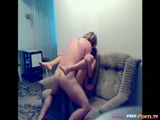 Perfect Teen Sextape On The Sofa