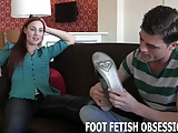 Shoving my soft feet in your face
