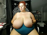 BBW Huge Titties Plays With Toy 3