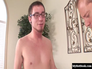 Whitney Stevens uses her enormous natural breasts to get two guys to fuck