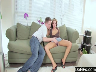Dagfs  Naughty Couple Fuck On the Couch 2
