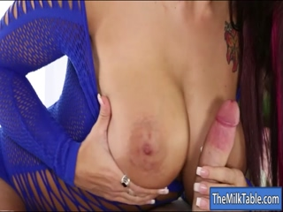 Massive tits masseuse blowjobs hard dick