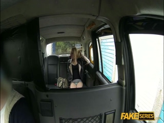 April gets back at her lover by fucking a driver