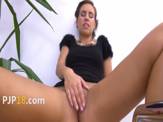 Masturbation and gapping their pussies 10