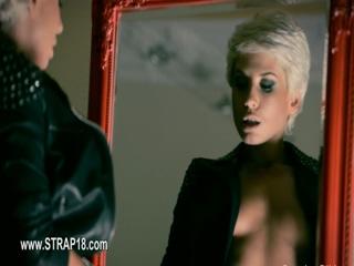 Great fetish lesbians vibrator movie 120