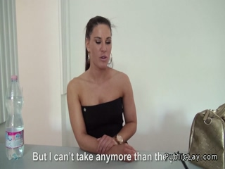 Tight Czech secretary fucks POV
