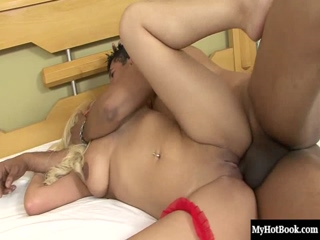 Carol Castro has been craving the taste of a big brown cock, and