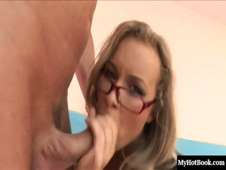 Colette is a drop dead, gorgeous blonde secretary, who looks very sexy, wearing