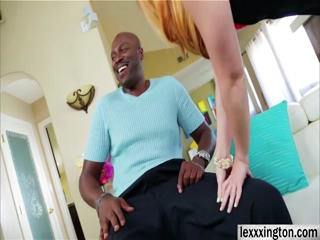 Big assed babe Dani Jensen masturbates and fucks black cock