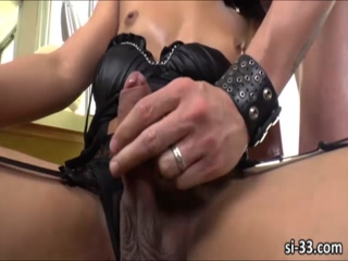 Bubble butt Latina transgirl Gabriella Lira gets anal ripped