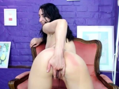 Hot Brunette Webcam Masturbation