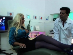 Hot Blonde Fucked By The Doctor