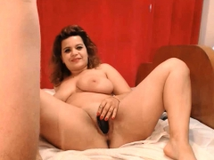 Busty Wife Fucked All Holes And Got Huge Facial