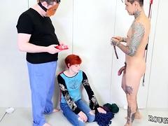 Milf Strap On Bondage Cummie, The Painal Cum Cat