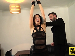 Whipped And Bound Sub