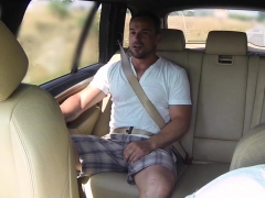 Bigtitted European Cabbie Sucking Dick