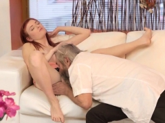 Blonde Gym Unexpected Experience With An Older Gentleman