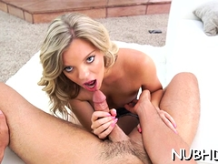 Luscious Teen Playgirl With Body Rides Ramrod Like Crazy