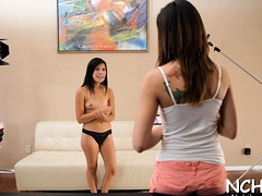 Charming Looking Teen Hottie Gets Her 1st Casting Experience