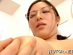 Sexy Teacher Teases With Arse And Gets Cunt Licked Sensually