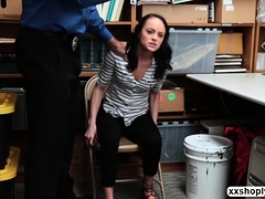 Shoplifter Kylie Sucks And Fuck Dudes Cock
