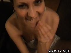 Examening Her Throat And Indecent Cleft