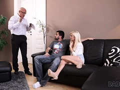 Daddy4k. Mature Guy Embarks Spontaneous Sex With Winsome...