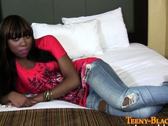 Plowed Black Teen Gobbles