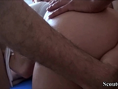 German Teen Katy In Real Amateur Gangbang Part 1