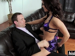 Horny Alyssa Craves For A Fat Dick