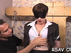 Ballgagged Floozy Can't Live Without Bdsm
