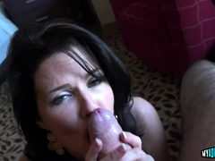 Beautiful Milf Sucks And Rides A Schlong