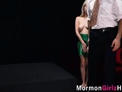 Mormon Teen Swaps Cum