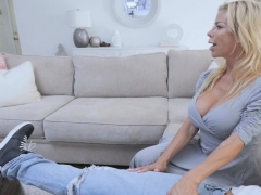Alexis Used Her Bigtits To Fuck Stepsons Cock