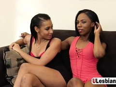 Hot Black Lesbians Sure Do Know How To Pleasure Each Other