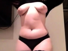 Busty Bbw Teen Masturbate-more
