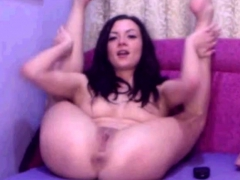 Sexy Girl Fist Her Pussy And Toy Her Ass In Cam